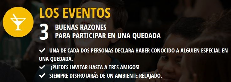 opiniones eventos meetic