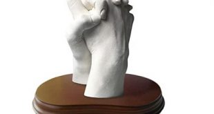 escultura de las manos